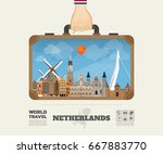 hand carrying netherland...   Shutterstock .eps vector #667883770