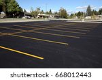 A Newly Completed Parking Lot...
