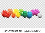 Group Of Colour Glossy Helium...