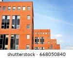 modern building.modern office... | Shutterstock . vector #668050840