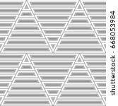 blocks wallpaper. repeated...   Shutterstock .eps vector #668053984