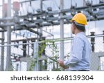 Electrical Engineer Working  O...