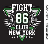 sport fighting boxing...   Shutterstock .eps vector #668140099