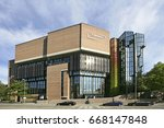 cultural center gasteig seat of ... | Shutterstock . vector #668147848