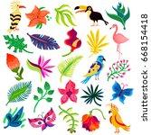 Tropical Exotic Set Of Twenty...