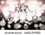 background with light bokah | Shutterstock . vector #668159980