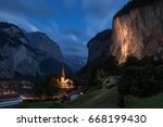 in the night you can see the... | Shutterstock . vector #668199430