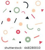 geometric abstract background ... | Shutterstock .eps vector #668280010