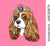 Portrait Of The Cavalier King...
