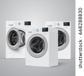 Realistic Vector Washers On...