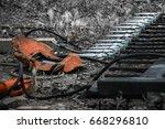 working the  steel | Shutterstock . vector #668296810