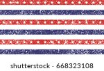 4th of july stars and stripes... | Shutterstock .eps vector #668323108