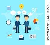 business illustration.   Shutterstock .eps vector #668330224