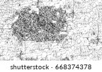 black and white abstract grunge ... | Shutterstock . vector #668374378