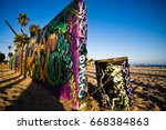Santa Monica Graffiti Wall