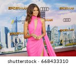 zendaya at the world premiere... | Shutterstock . vector #668433310
