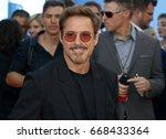 Robert Downey Jr. At The World...