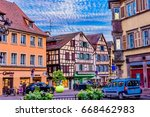colmar  france   june 14  2017  ... | Shutterstock . vector #668462983