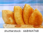 Appetizing Fried Pies In A...