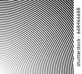 halftone texture. vector lines... | Shutterstock .eps vector #668466688