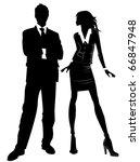 business people | Shutterstock .eps vector #66847948
