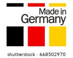 seal of quality with text made... | Shutterstock .eps vector #668502970