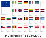 flags collection of all...   Shutterstock .eps vector #668502976