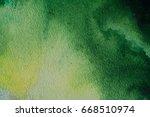 green paint background | Shutterstock . vector #668510974