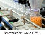 pharmaceutical industry ... | Shutterstock . vector #668511943
