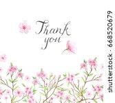 wedding invitation template... | Shutterstock . vector #668520679
