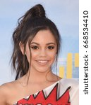 "Small photo of HOLLYWOOD - JUN 28: Jenna Ortega arrives to the ""Spider-Man Homecoming"" World Premiere on June 28, 2017 in Hollywood, CA"