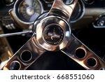 warsaw  poland  may 13 interior ... | Shutterstock . vector #668551060