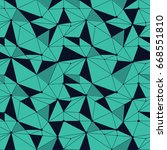 geometric line hipster seamless ... | Shutterstock .eps vector #668551810