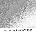 vector silver foil background... | Shutterstock .eps vector #668559388