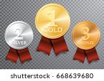 vector golden  silver and... | Shutterstock .eps vector #668639680