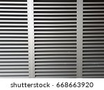 aluminum vents the image is the ... | Shutterstock . vector #668663920