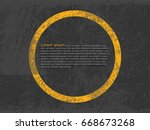 abstract background  cement and ... | Shutterstock .eps vector #668673268