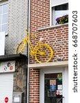 henri chapelle  belgium  25th... | Shutterstock . vector #668707603