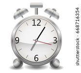 metal mechanical realistic... | Shutterstock .eps vector #668716354
