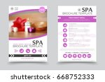 minimalistic spa and healthcare ...   Shutterstock .eps vector #668752333