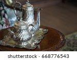 Vintage Luxury Silver Dishware  ...