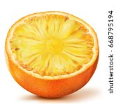 fruit composition citrus with...   Shutterstock .eps vector #668795194