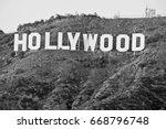 hollywood california   december ... | Shutterstock . vector #668796748