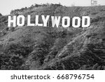 hollywood california   december ... | Shutterstock . vector #668796754