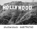 hollywood california   december ... | Shutterstock . vector #668796760