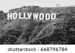 hollywood california   december ... | Shutterstock . vector #668796784