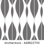 seamless pattern with geometric ... | Shutterstock .eps vector #668822743