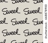 seamless vector pattern with... | Shutterstock .eps vector #668878900