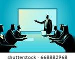business illustration of... | Shutterstock .eps vector #668882968