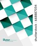 vector squares abstract